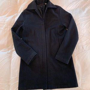 Banana Republic Black Wool Coat